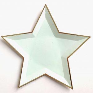 estrella menta pastel